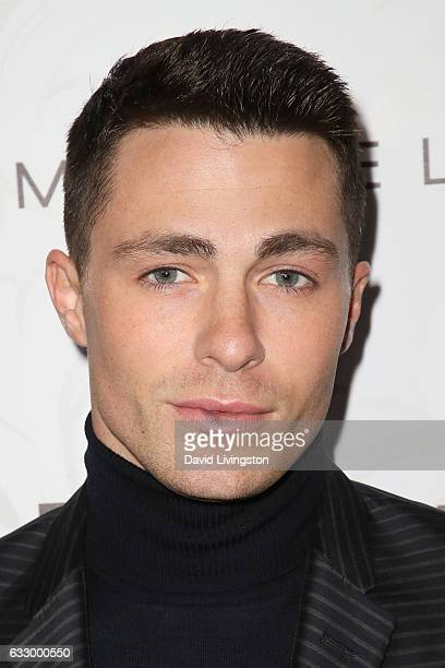 Actor Colton Haynes arrives at the Entertainment Weekly celebration honoring nominees for The Screen Actors Guild Awards at the Chateau Marmont on...