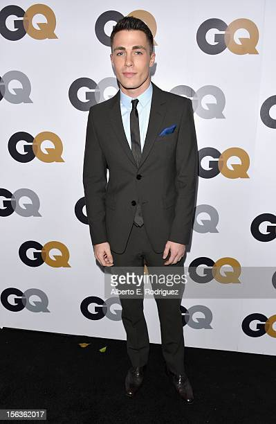 Actor Colton Haynes arrives at the GQ Men of the Year Party at Chateau Marmont on November 13 2012 in Los Angeles California