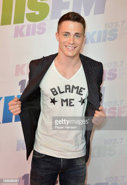 Actor Colton Haynes attends 1027 KIIS FM's Wango Tango 2013 held at The Home Depot Center on May 11 2013 in Carson California