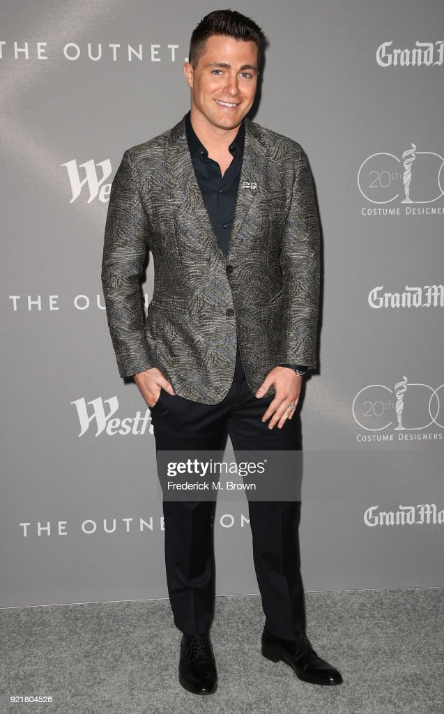 Actor Colton Haynes attends the Costume Designers Guild Awards at The Beverly Hilton Hotel on February 20, 2018 in Beverly Hills, California.