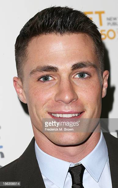 Actor Colton Haynes attends the Premiere Of 'American Masters Inventing David Geffen' at The Writers Guild of America on November 13 2012 in Beverly...