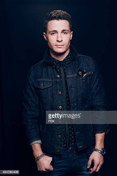 Actor Colton Haynes is photographed at the Fox 2014 Teen Choice Awards at The Shrine Auditorium on August 10 2014 in Los Angeles California
