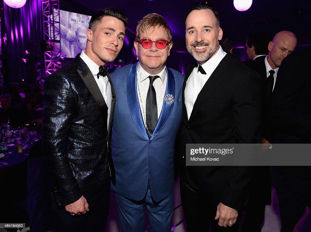 23rd Annual Elton John AIDS Foundation Academy Awards Viewing Party - Inside : Nachrichtenfoto
