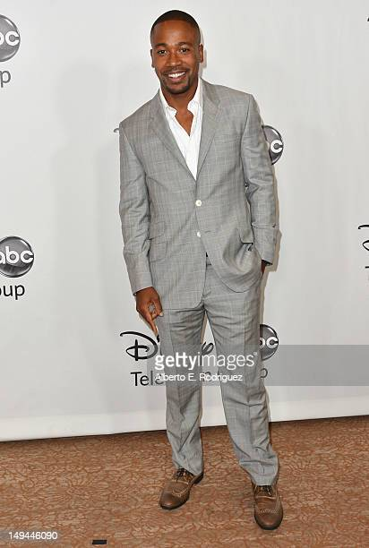 Actor Columbus Short arrives to the Disney ABC Television Group's 2012 'TCA Summer Press Tour' on July 27 2012 in Beverly Hills California
