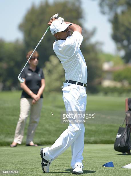 Actor Columbus Short attends the 5th Annual George Lopez Celebrity Golf Classic to Benefit The Lopez Foundation at Lakeside Golf Club on May 7 2012...