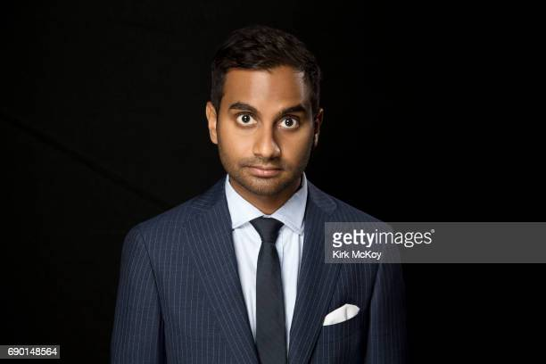 Actor comedian and director Aziz Ansari is photographed for Los Angeles Times on April 26 2017 in Los Angeles California PUBLISHED IMAGE CREDIT MUST...