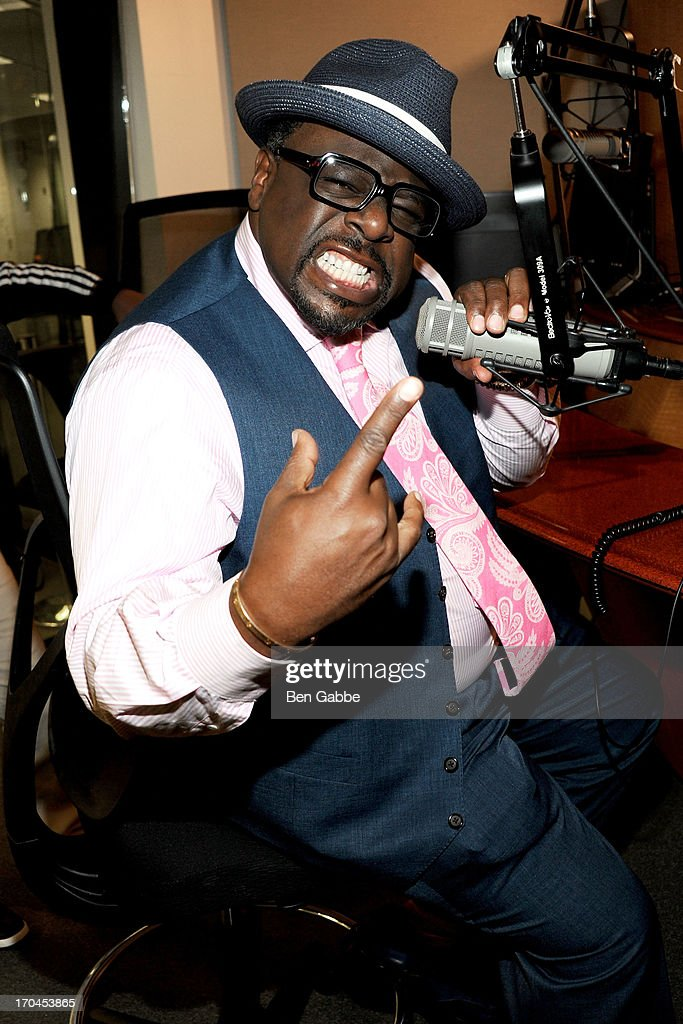 Actor, comedian and director Cedric the Entertainer promotes Soul Man on TV Land at the SiriusXM Studios on June 13, 2013 in New York City.