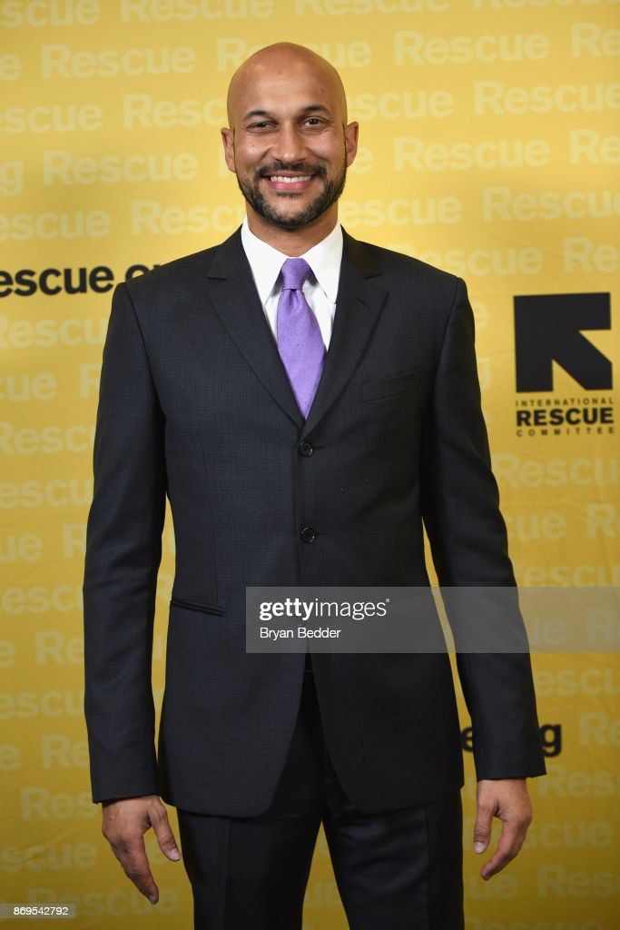 Actor, Comedian and Producer Keegan-Michael Key attends The 2017 Rescue Dinner hosted by IRC at New York Hilton Midtown on November 2, 2017 in New York City.