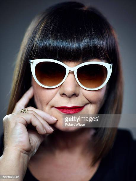 Actor comedian and writer Dawn French is photographed for the Times on August 26 2015 in London England