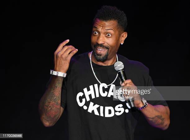 Actor comedian and writer Deon Cole performs his standup comedy routine at The Orleans Showroom at The Orleans Hotel Casino on August 24 2019 in Las...