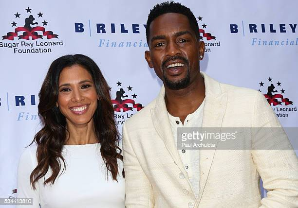 Actor / Comedian Bill Bellamy and his Wife Kristen Baker Bellamy attend the 7th annual Big Fighters Big Cause Charity Boxing Night benefiting the...