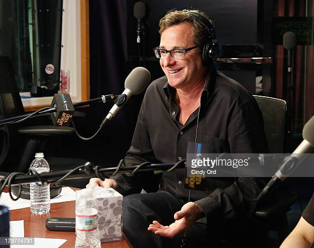 Actor/ comedian Bob Saget visits 'The Opie Anthony Show' at the SiriusXM Studios on July 17 2013 in New York City