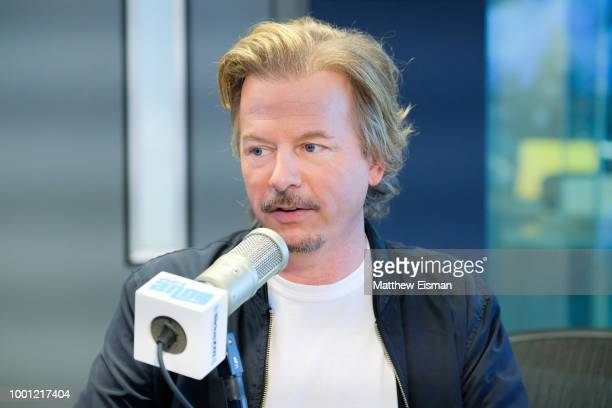 Actor/ Comedian David Spade visits 'Radio Andy' at the SiriusXM Studios on July 18 2018 in New York City