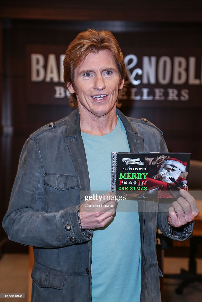 Actor / comedian Denis Leary signs copies of his book 'Merry F***in' Christmas' at Barnes & Noble bookstore at The Grove on December 6, 2012 in Los Angeles, California.