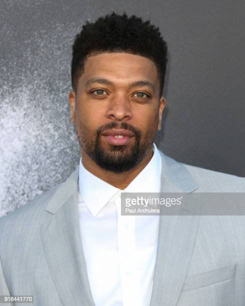 Actor / Comedian DeRay Davis attends the premiere of Lionsgate's 'All Eyez On Me' on June 14 2017 in Los Angeles California