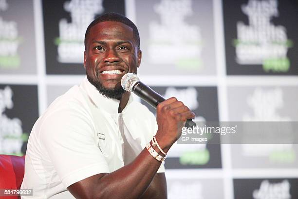 Actor, Comedian Kevin Hart attends Just For Laughs Comedy PRO with his Laugh Out Loud Network Pitch Panel held at The Hyatt Regency Montreal on July...