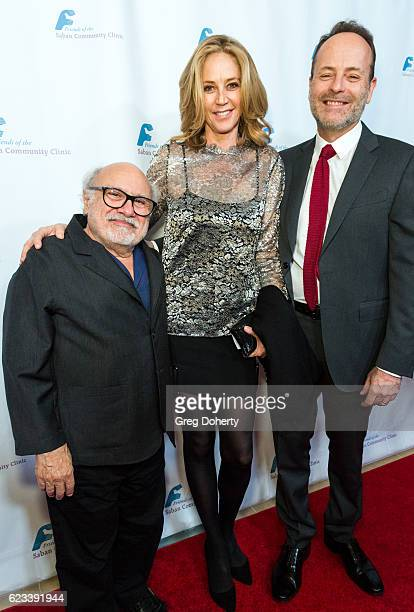Actor comedian producer and director Danny Devito Actress Ally Walker and Honoree and CEO FX Networks FX Productions John Landgraf arrive for the...