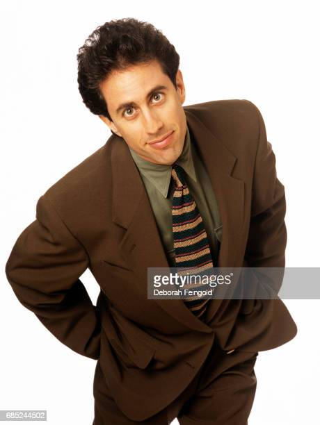 Actor Comedian Producer Jerry Seinfeld poses for a portrait in April 1998 in New York City New York