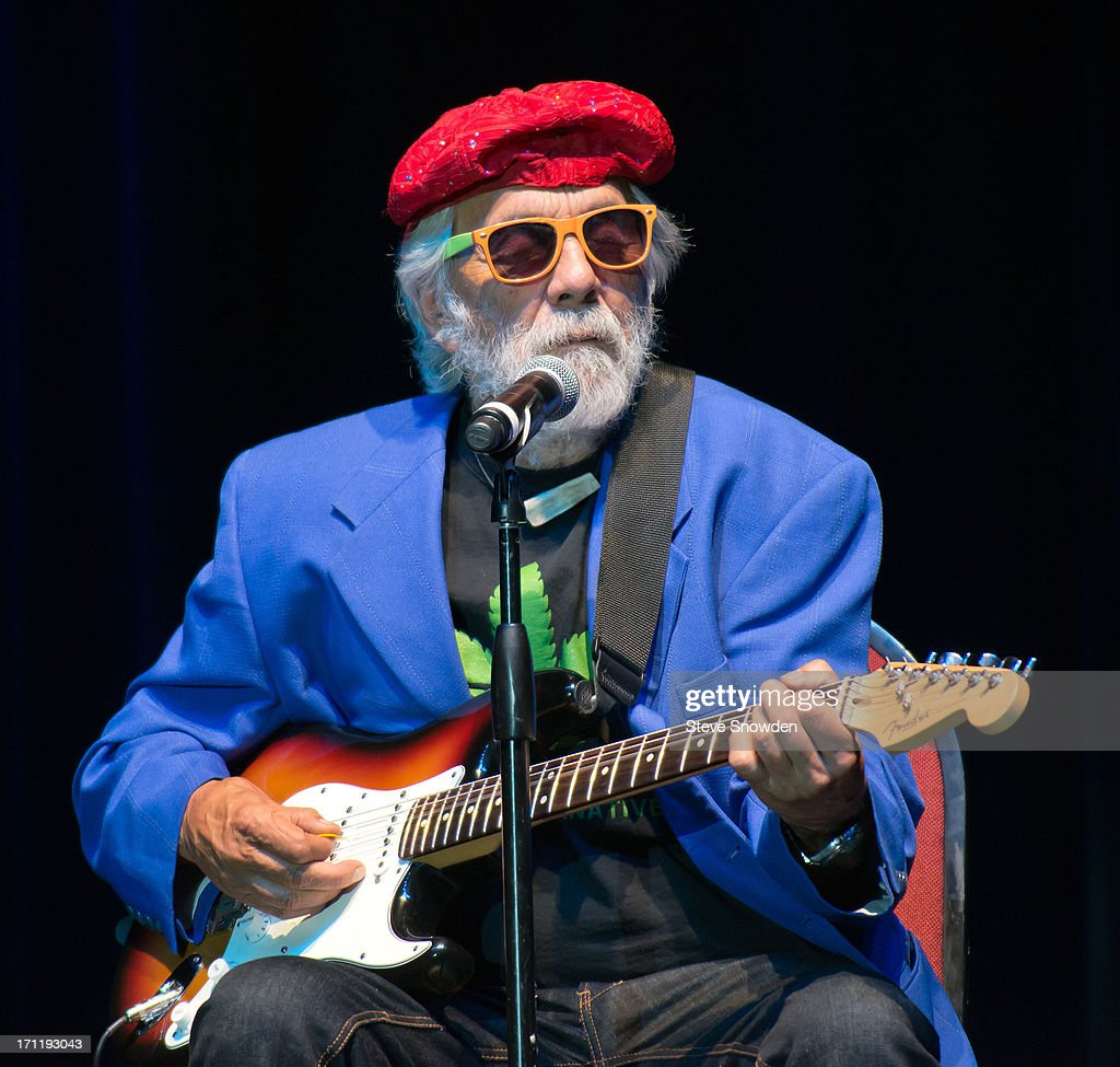 Actor / Comedian Tommy Chong performs in character as Blind Melon Chitlin' at Route 66 Casino's Legends Theater on June 22, 2013 in Albuquerque, New Mexico.