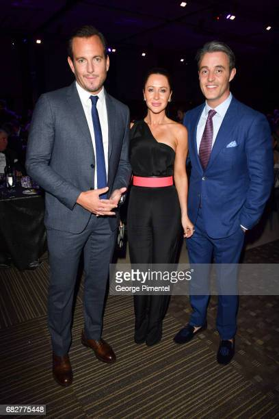 Actor/ Comedian Will Arnett Jessica Mulroney and TV Personality Ben Mulroney attends Laughter Is The Best Medicine III Gala at Beanfield Centre...