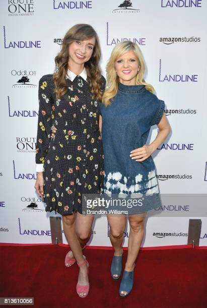 Actor / comedians Lauren Lapkus and Arden Myrin attend the premiere of Amazon Studios' Landline at ArcLight Hollywood on July 12 2017 in Hollywood...