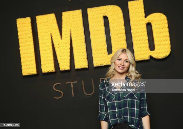 Actor Comfort Clinton of 'Paint' attends The IMDb Studio and The IMDb Show on Location at The Sundance Film Festival on January 22 2018 in Park City...