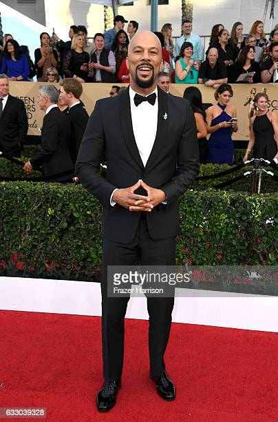 Actor Common attends The 23rd Annual Screen Actors Guild Awards at The Shrine Auditorium on January 29 2017 in Los Angeles California 26592_008