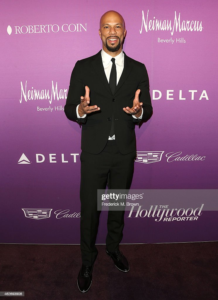 Actor Common attends The Hollywood Reporter's Annual Oscar Nominees Night Party at Spago on February 2, 2015 in Beverly Hills, California.