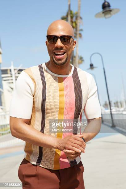 Actor Common is photographed for Ebony Magazine on April 14, 2016 in Marina del Rey, California. PUBLISHED IMAGE.