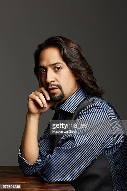 Actor composer rapper and writer LinManuel Miranda for Vanity Fair Magazine on October 21 2014 in New York City