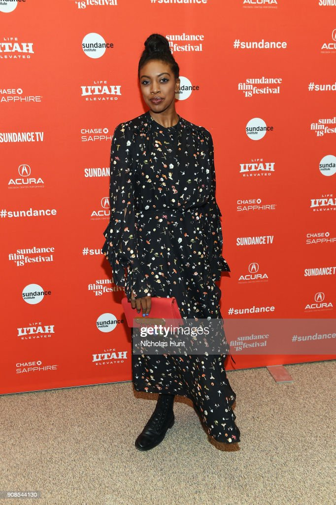 Actor Condola Rashad attends the 'Come Sunday' Premiere during the 2018 Sundance Film Festival at Eccles Center Theatre on January 21, 2018 in Park City, Utah.