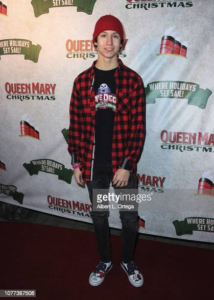 Actor Conner Shane attends the Queen Mary Christmas Media VIP Night held on November 26 2018 in Long Beach California