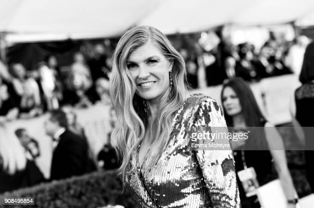 Actor Connie Britton attends the 24th Annual Screen Actors Guild Awards at The Shrine Auditorium on January 21 2018 in Los Angeles California...
