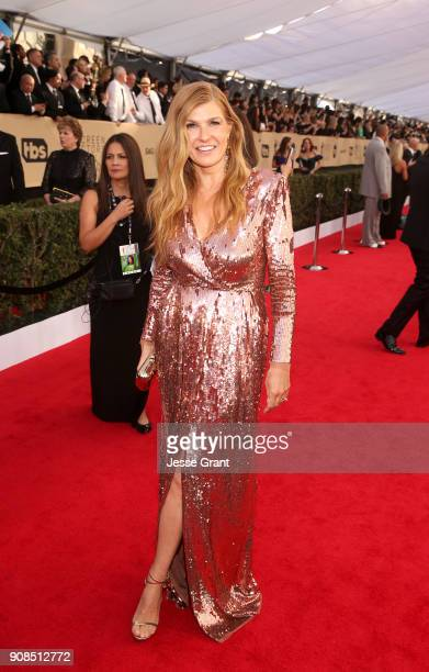 Actor Connie Britton attends the 24th Annual Screen ActorsGuild Awards at The Shrine Auditorium on January 21 2018 in Los Angeles California