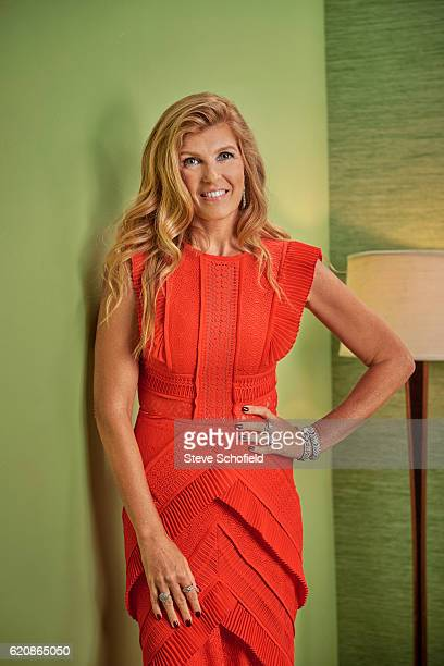 Actor Connie Britton is photographed for Emmy magazine on September 18 2016 in Los Angeles California