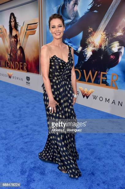Actor Connie Nielsen attends the premiere of Warner Bros Pictures' 'Wonder Woman' at the Pantages Theatre on May 25 2017 in Hollywood California