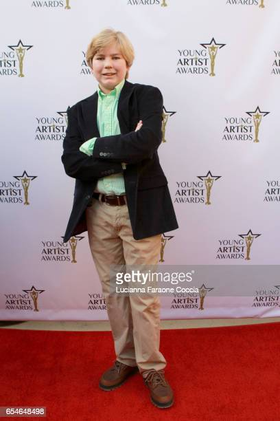 Actor Connor Dean attends the 38th Annual Young Artists Awards at Alex Theatre on March 17 2017 in Glendale California