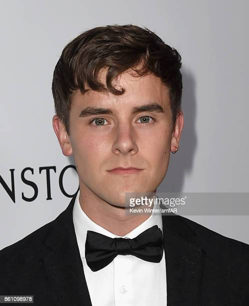 Actor Connor Franta attends the amfAR Gala Los Angeles 2017 at Ron Burkle's Green Acres Estate on October 13 2017 in Beverly Hills California