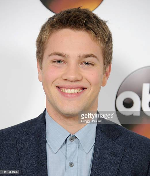 Actor Connor Jessup arrives at the 2017 Winter TCA Tour Disney/ABC at the Langham Hotel on January 10 2017 in Pasadena California
