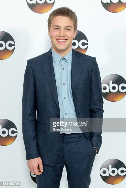 Actor Connor Jessup arrives for the 2017 Winter TCA Tour for Disney/ABC at The Langham Hotel on January 10 2017 in Pasadena California