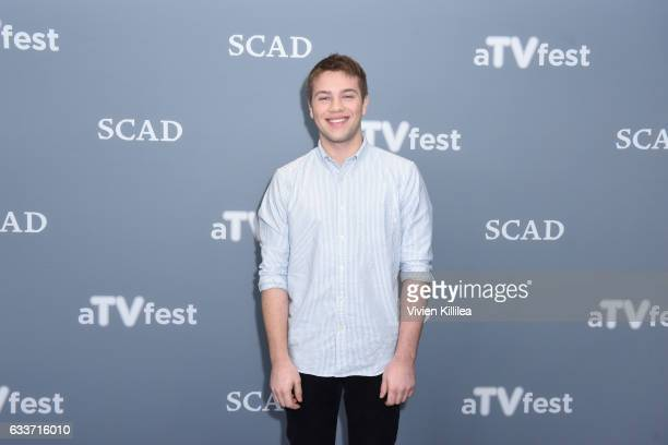 Actor Connor Jessup attends a press junket for American Crime on Day Two of aTVfest 2017 presented by SCAD on February 3 2017 in Atlanta Georgia