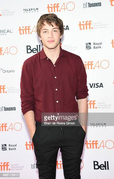 Actor Connor Jessup attends Closet Monster photo call during the 2015 Toronto International Film Festival at Ryerson Theatre on September 13 2015 in...