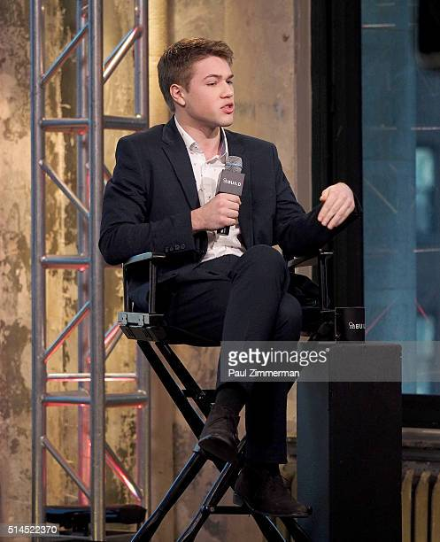 Actor Connor Jessup attends the AOL Build Speakers Series to discuss American Crime at AOL Studios In New York on March 9 2016 in New York City