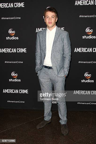 Actor Connor Jessup attends the FYC Screening Of ABC's American Crime at Directors Guild Of America on May 6 2016 in Los Angeles California