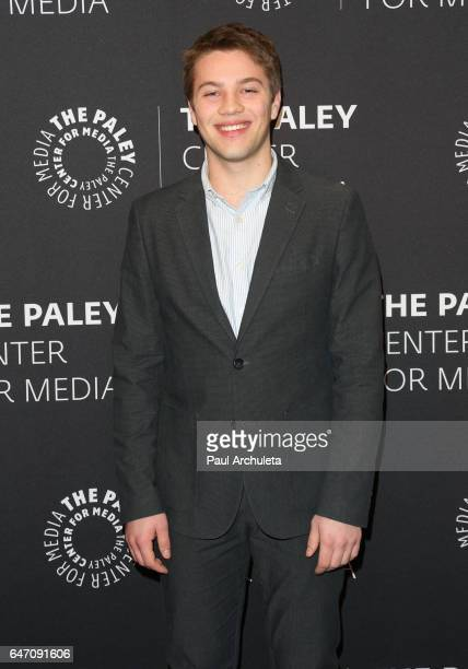 Actor Connor Jessup attends the screening for ABC's American Crime season 3 at The Paley Center for Media on March 1 2017 in Beverly Hills California