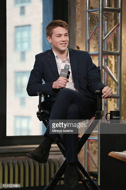 Actor Connor Jessup discusses his role in the criticallyacclaimed television show American CrimeÓ at AOL Studios in New York on March 9 2016 in New...