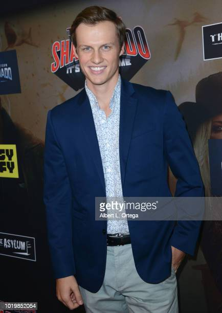 Actor Connor Weil arrives for the Premiere Of The Asylum And Syfy's 'The Last Sharknado It's About Time' held at Cinemark Playa Vista on August 19...