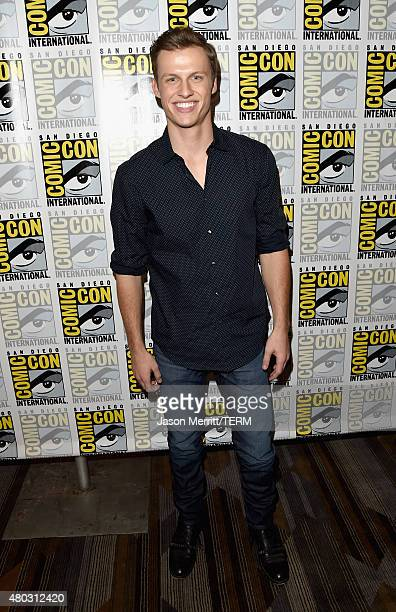 Actor Connor Weil attends the Scream press room during ComicCon International 2015 at the Hilton Bayfront on July 10 2015 in San Diego California