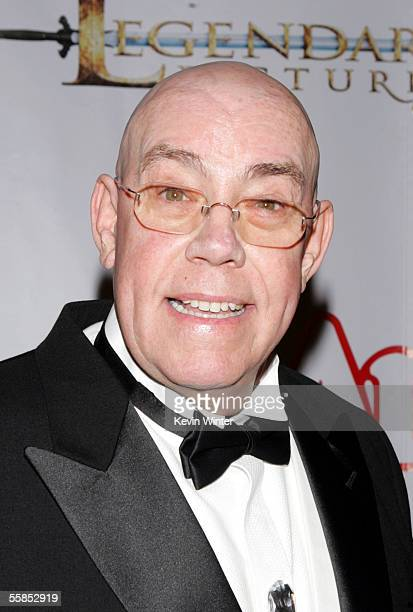 "Actor Conrad John Schuck arrives at the opening of ""Annie"" at the Pantages Theartre on October 4, 2005 in Los Angeles, California."