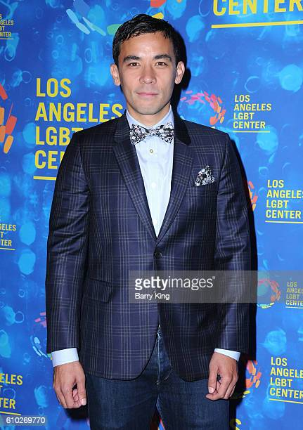 Actor Conrad Ricamora attend the Los Angeles LGBT 47th Anniversary Gala at Pacific Design Center on September 24 2016 in West Hollywood California